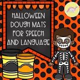 Halloween Dough Mats for Speech and Language