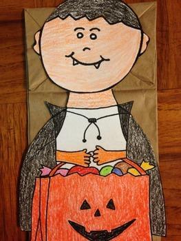 Halloween Vampire Puppet