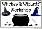 Halloween Dramatic Play - Witches and Wizards Workshop and Activities