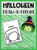 Halloween Draw-a-Feeling Elementary School Counseling Emotions Feelings Activity