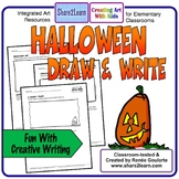 Halloween Writing Draw and Write