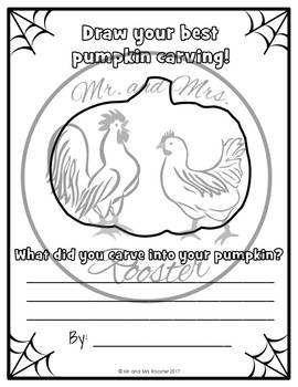 Halloween Draw and Write Activity {Elementary Writing Prompts}