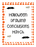Halloween Drawing Conclusions Match