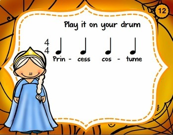 Halloween Drumming for Rhythm Fun, Composing, and Performance (4/4)