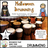 Halloween Bucket Drumming for 44 Time Signature
