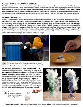 Steve Spangler's Halloween Dry Ice Secrets