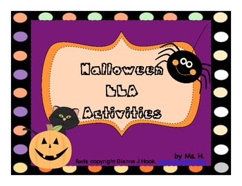 Halloween ELA Activities
