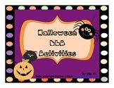Halloween ELA Activities