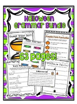 Halloween Grammar Bundle!