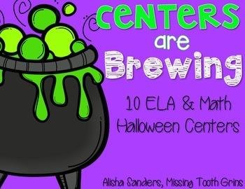 Halloween ELA & Math Centers