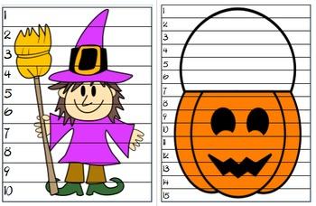 Halloween ELA and Math Activities Bundle
