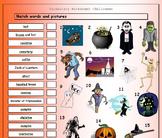 Halloween ESL EFL - 2 FREE Worksheets