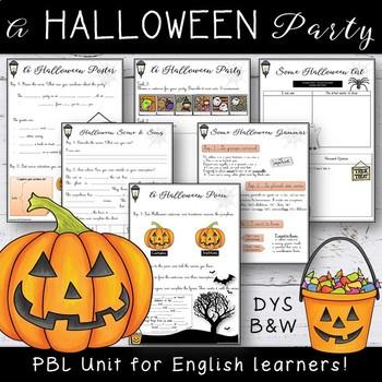 Halloween ESL-EFL Bundle
