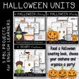 Halloween Activities - PBL Units Bundle