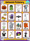 Halloween ESL EFL Free Pictionary