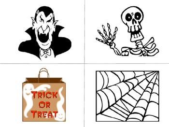 Halloween ESL Vocabulary Word Wall