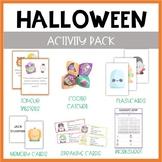 Halloween ESL activity pack
