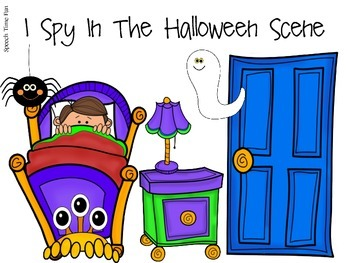 Halloween Early Language File Folder Activities