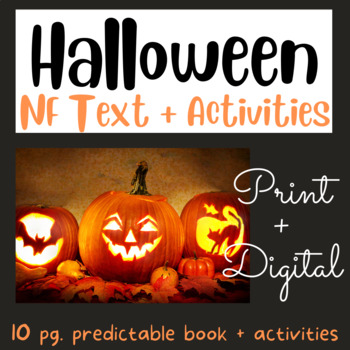 Halloween: Early Reader #11 using Fry's 1st 100 Words