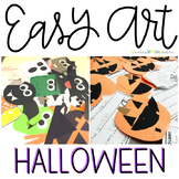 Halloween Easy Art: Adapted Art and Writing Activities