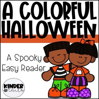 Halloween Easy Reader for Kindergarten