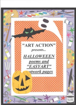 Halloween Drawing Work Sheets and original poems.
