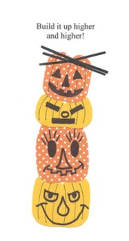 "Halloween ""Easyart"" Totem Pole"