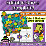 Halloween Editable Game Template