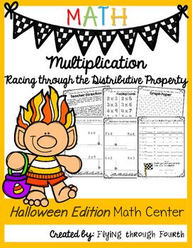 Halloween Edition: Racing through the Distributive Property of Multiplication