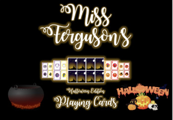 Halloween Edition Set of Playing Cards