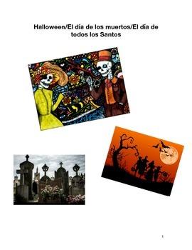 Halloween/ El día de los muertos/ El día de todos los Santos