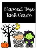 Halloween Elapsed Time Task Cards