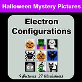 Halloween: Electron Configurations - Mystery Pictures