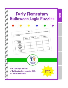 Halloween Elementary Logic Puzzles