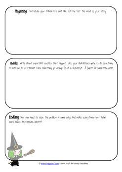 Halloween Elementary Writing Pack