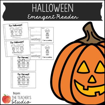 Hallo-Harvest Emergent Reader!