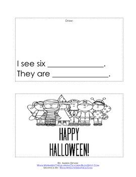 Halloween Emergent Reader!