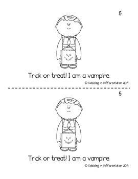 Halloween Emergent Reader
