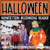 Halloween Nonfiction Emergent Reader