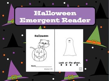 Halloween Emergent Reader Book Level A