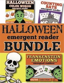 Halloween Emergent Reader Bundle