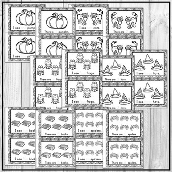 Halloween Emergent Reader Counting to 10