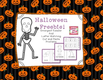 Halloween Emergent Reader Freebie