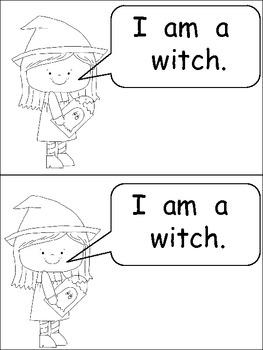 Halloween Emergent Reader Kindergarten- Ready for Halloween