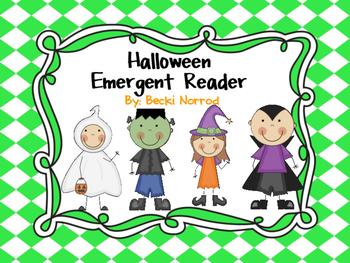 Halloween Emergent Reader: Monsters