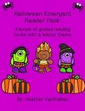 Halloween Emergent Reader Pack