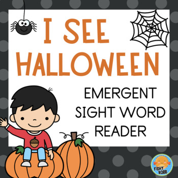 Halloween Emergent Reader - Sight Words