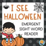 Halloween Emergent Reader - Sight Words