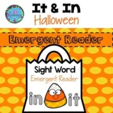 Halloween ESL Emergent Reader - Sight Words in & it