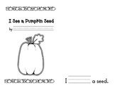 Halloween Emergent Reader - The Life Cycle of a Pumpkin